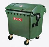 Waste Collection Bin 1100L
