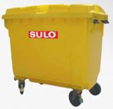 Waste Collection Bin 660L